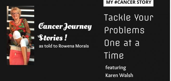 My #cancer story - Karen Walsh