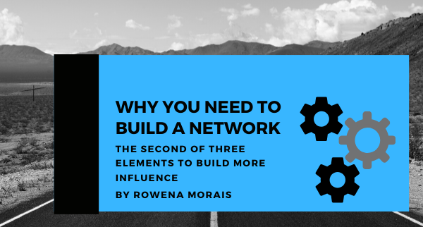 Why you need to build a network
