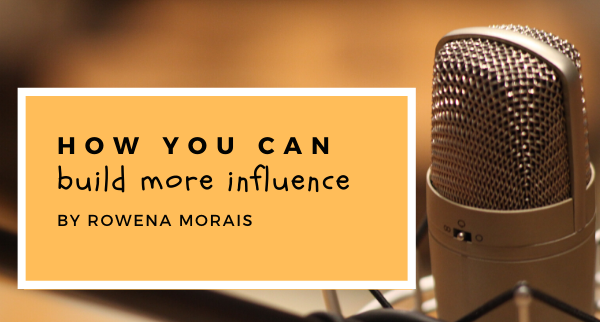How you can build more influence